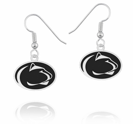 086a29999 Penn State Nittany Lions Sterling Silver Drop Earrings image 2