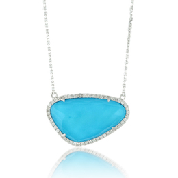 St. Barths Blue Turquoise Necklace image 2