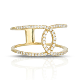 Modern Diamond Fashion Ring image 2
