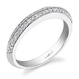Stardust Beautiful Diamond Wedding Band