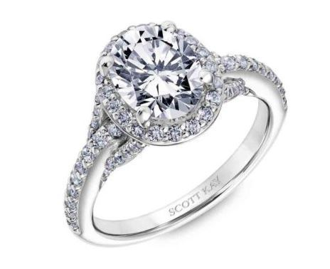 Scott Kay Engagement Ring SK5610 Embrace image 2