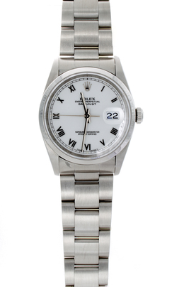 Rolex Pre-Owned Datejust with White Roman Dial image 2