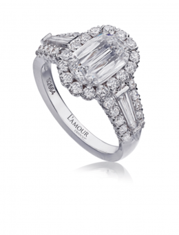 Christopher Designs L'Amour L102-150 Engagement Ring image 2
