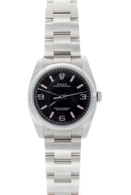 Rolex Pre-Owned Stainless Steel with Pink Index image 2