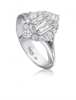 Christopher Designs L'Amour L172-060 Engagment Ring image 2