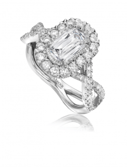 Christopher Designs L'Amour L193-075 Engagement Ring image 2