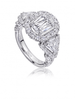 Christopher Designs L209-150SP Engagement Ring image 2