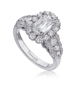 Christopher Designs L106-100 Engagement Ring image 2