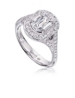 Christopher Designs L135-100 Engagement Ring image 2