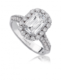 Chistopher Designs L100-150 Engagement Ring image 2