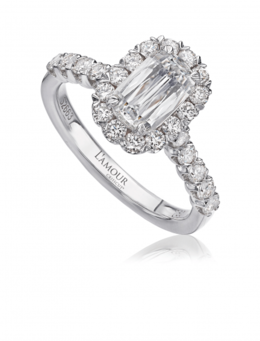 Christopher Designs L101-100 Engagement Ring image 2