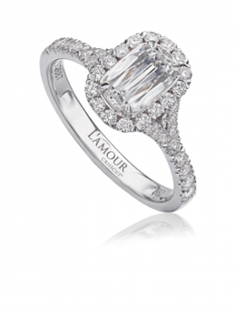Christopher Designs L103-075 Engagement Ring image 2