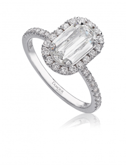 Christopher Designs L105-125 Engagement Ring image 2