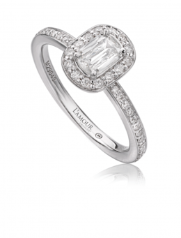 Christopher Designs L118-040 Engagement Ring image 2