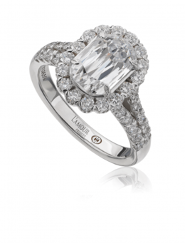 Christopher Designs L144-150 Engagement Ring image 2