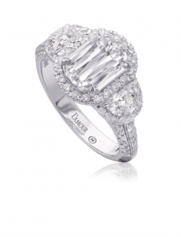 Christopher Designs L219-150 Engagement Ring image 2