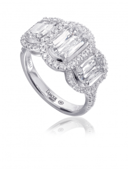 Christopher Designs L251-100 Engagement Ring image 2