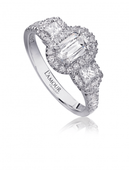 Christopher Designs L119-060 Engagement Ring image 2