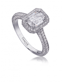Christopher Designs L122-100 Engagement Ring image 2