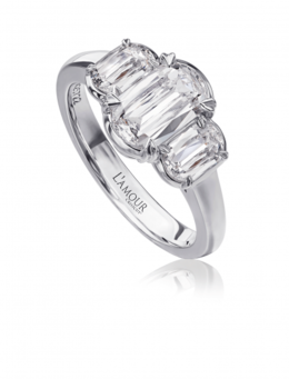 Christopher Designs L137-100 Engagement Ring image 2