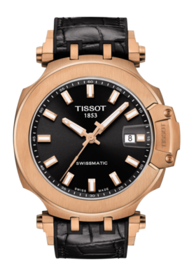 Tissot T-Race Swissmatic in Rose Black image 2