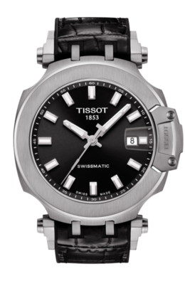 Tissot T-Race Swissmatic Watch in Stainless and Black  image 2