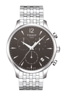 Tissot Tradition Chronograph in Stainless and Black image 2