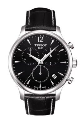 Tissot Tradition Chronograph in Black image 2