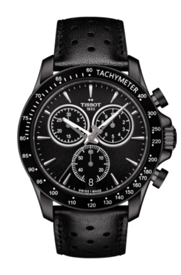 Tissot V8 Quartz Chronograph in Black image 2