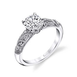 Roial Diamond Engagement Ring image 2