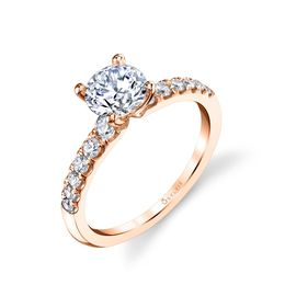 Celine Classic Solitaire Engagement Ring  image 1