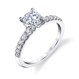 Celine Classic Solitaire Engagement Ring  image 2