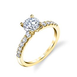 Celine Classic Solitaire Engagement Ring  image 3
