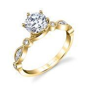 Charmant Stackable Engagement Ring image 3
