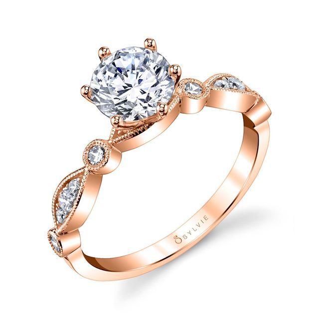 Charmant Stackable Engagement Ring image 2