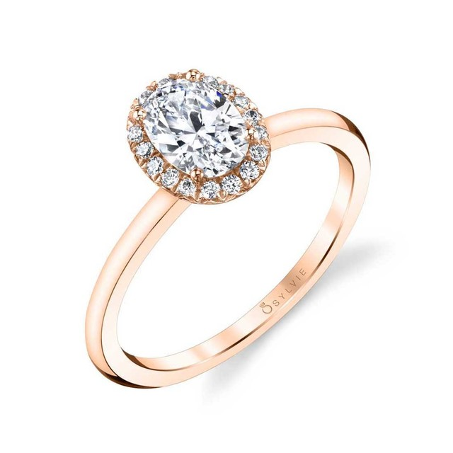 Elsie Oval Shaped Diamond Engagement Ring image 2
