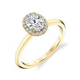 Elsie Oval Shaped Diamond Engagement Ring image 3