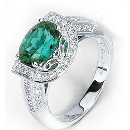Simon G. Green Tourmaline Ring