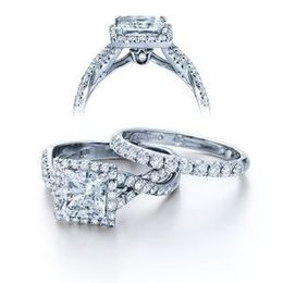 Verragio Princess Cut Couture Collection