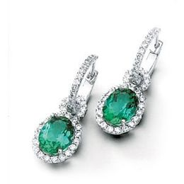 Simon G Green Tourmaline Earrings