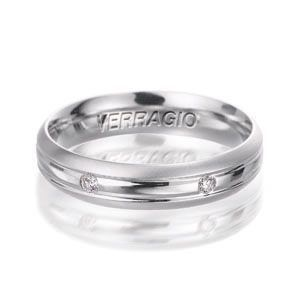 Gorgeous Verragio Diamond Mens Wedding Band