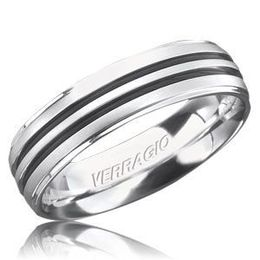 Handsome Verragio Mens Wedding Band