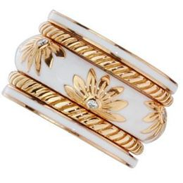 Gorgeous 18K Rose Gold Hidalgo Band