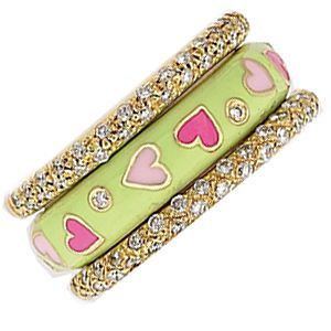 Charming Multi-Heart Ring by Hidalgo