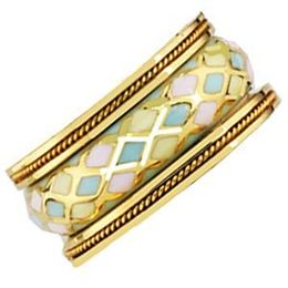 Stylish Mosaic Pattern Hidalgo Band