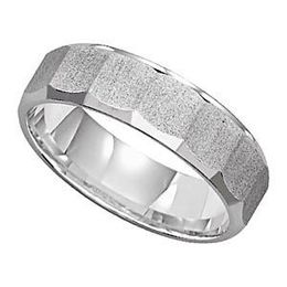 Handsome Lieberfarb Mens Wedding Band