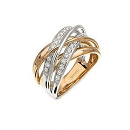 Two-Tone Diamond Ring by Simon G.