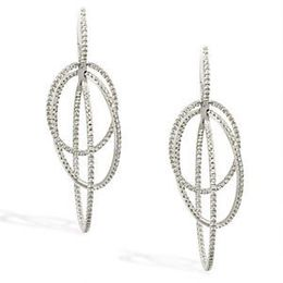 Dangle Diamond Earrings by Simon G.