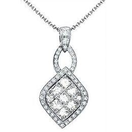 Alluring Diamond Pendant by Simon G.