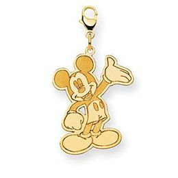 Gorgeous Disney Mickey Mouse Lobster Clasp Charm